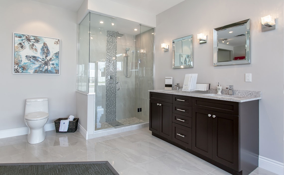 Custom Bathroom Vanities Oakville bathroom vanity materials - what is best?